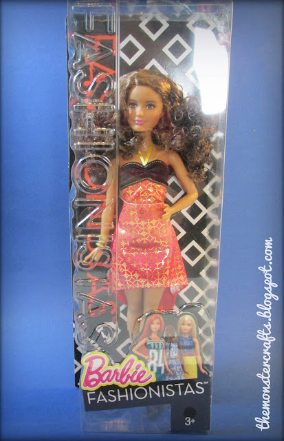Barbie fashionista doll review crazy for coral petite