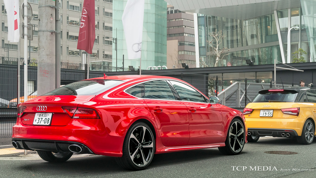 audi rs7 sport coupe for family of four motorflair. Black Bedroom Furniture Sets. Home Design Ideas