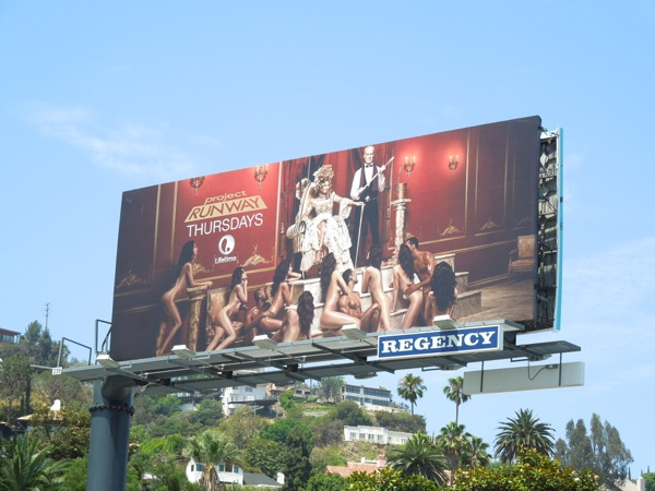 Project Runway season 12 billboard