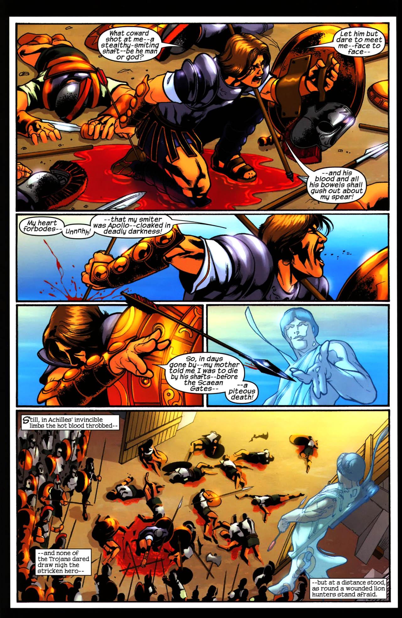 Read online Trojan War comic -  Issue #3 - 21