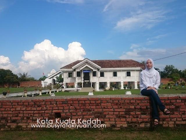 Keindahan Kota Kuala Kedah!