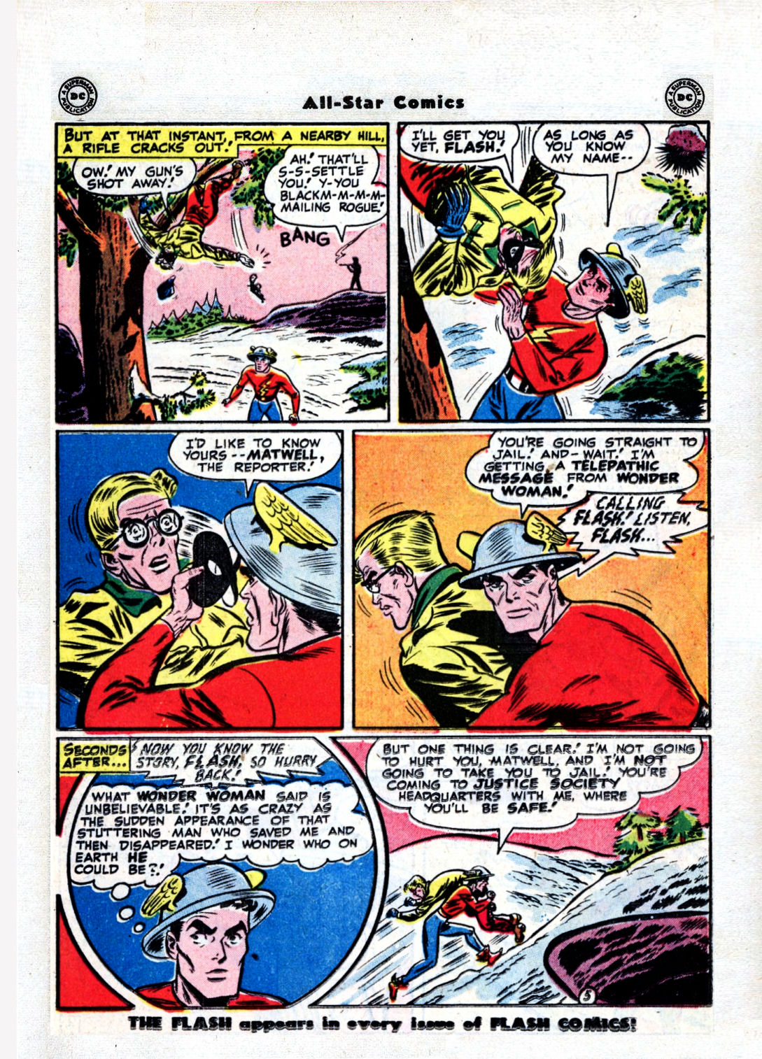 Read online All-Star Comics comic -  Issue #36 - 20