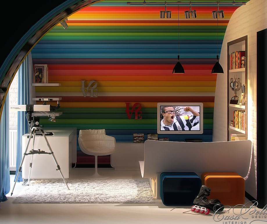 Colorful Kids Room Design: Colorful Kids Room Design Ideas