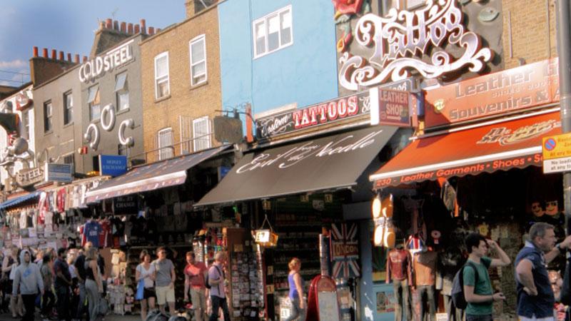 Camden Town London Europeantours