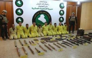 """القوات الأمنية العراقية تلقي القبض على مسؤول عسكري بـ""""ولاية نينوى"""" و10 دواعش آخرين في الموصل"""