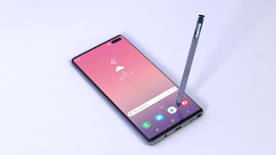 Galaxy Note 10 Phone Display