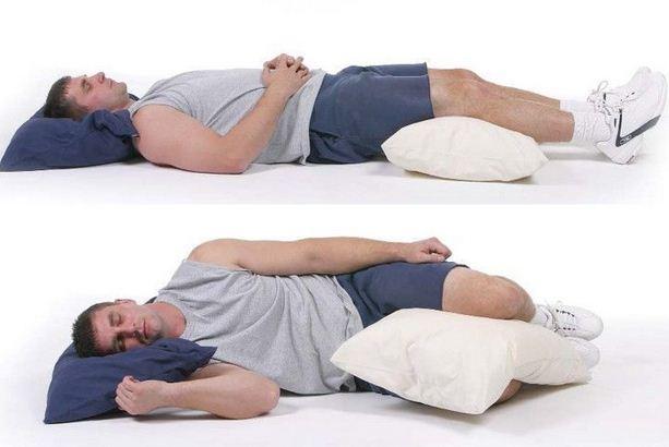 tidur dengan posisi menyamping