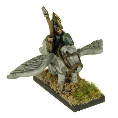 FEF202 Elves Mounted on Pegasus x3