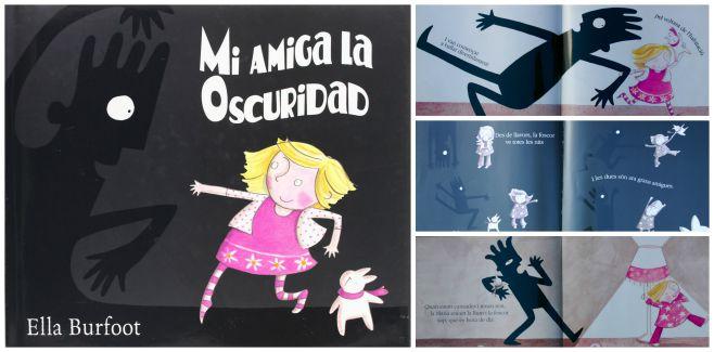 libro infantil superar miedo oscuridad: mi amiga la oscuridad