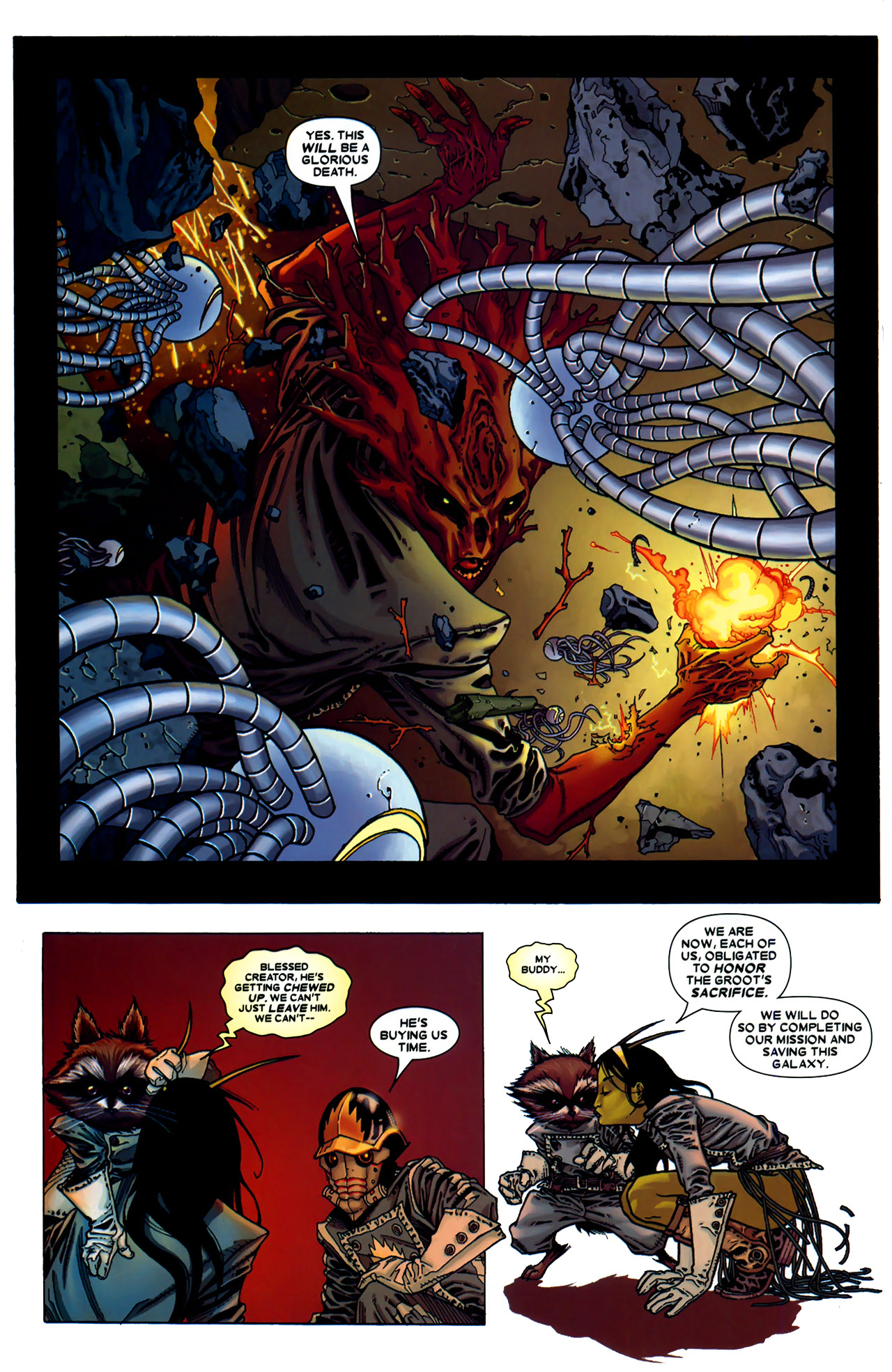 Read online Annihilation: Conquest - Starlord comic -  Issue #2 - 23