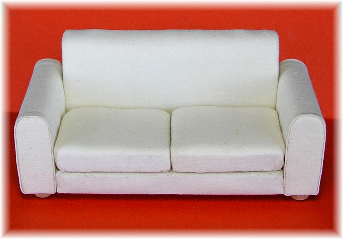 cardboard sofa new leaf furniture stores dyi dollhouse miniatures creative minds are rarely tidy