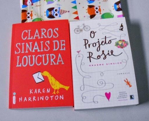 Claros Sinais de Loucura, Karen Harrington,  O Projeto Rosie, Graeme Simsion, livro, capa, sinopse