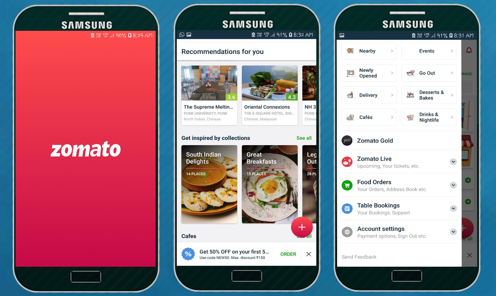 Zomato Restaurant Finder Food Delivery App Apps On Apk