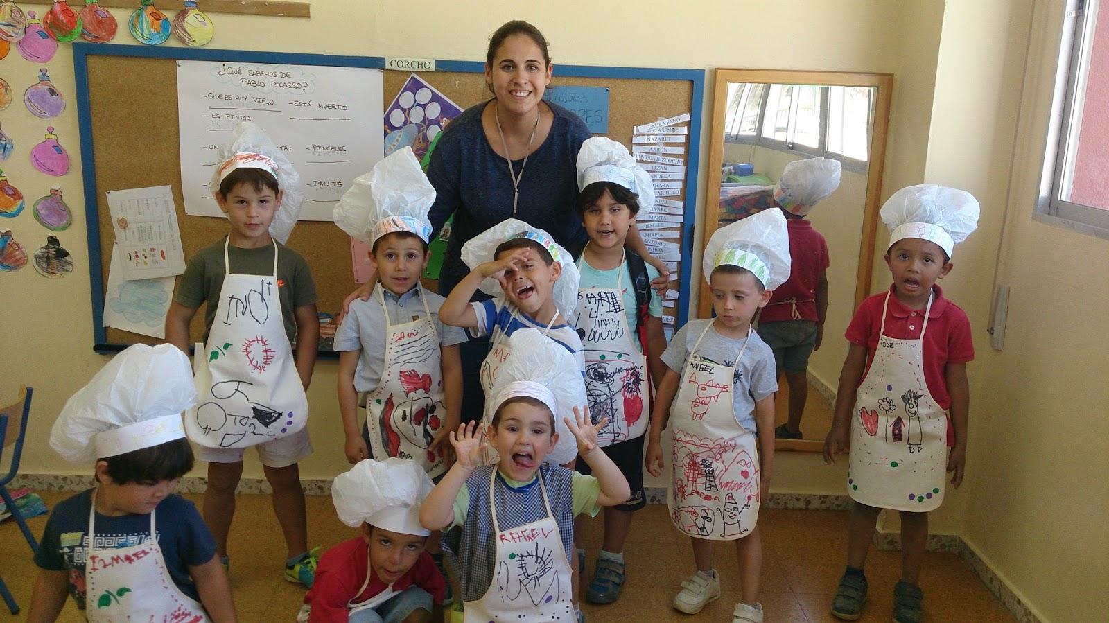 Mis 17 enanitos proyecto infantil cocina y alimentos 4 a os for Proyecto cocina infantil