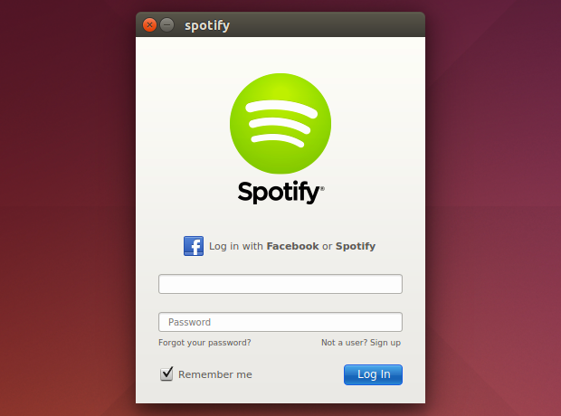 Spotify no Ubuntu