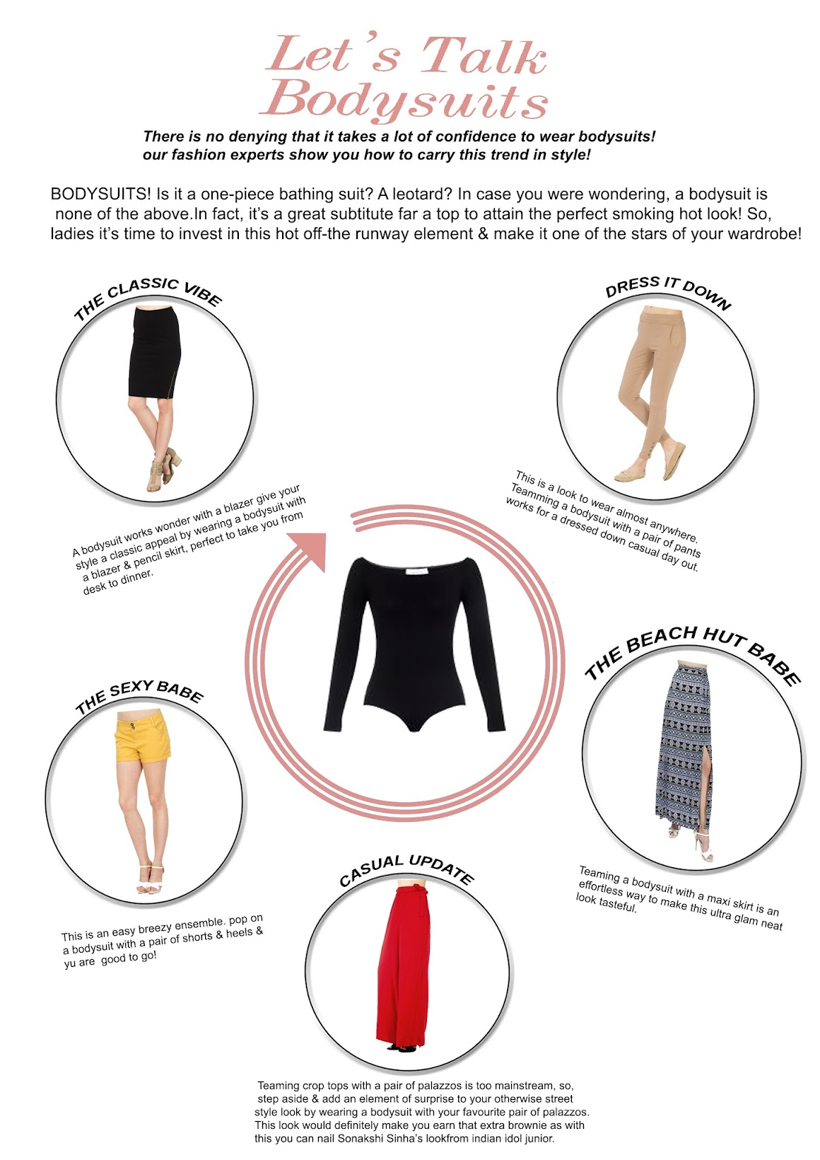 How to wear Bodysuits-5 Styling tips, Stalkbuylove bodysuits, Indian fashion blogger, Chamber of beauty