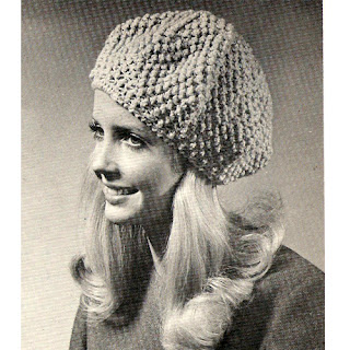 Crocheted Beret Pattern in Popcorn Stitch