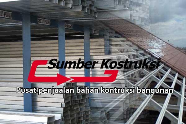 kanopi baja ringan subang sumber konstruksi harga pasang per meter 2019
