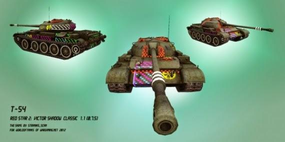 world of tanks mod skin
