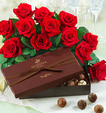 Chocolate & Flowers