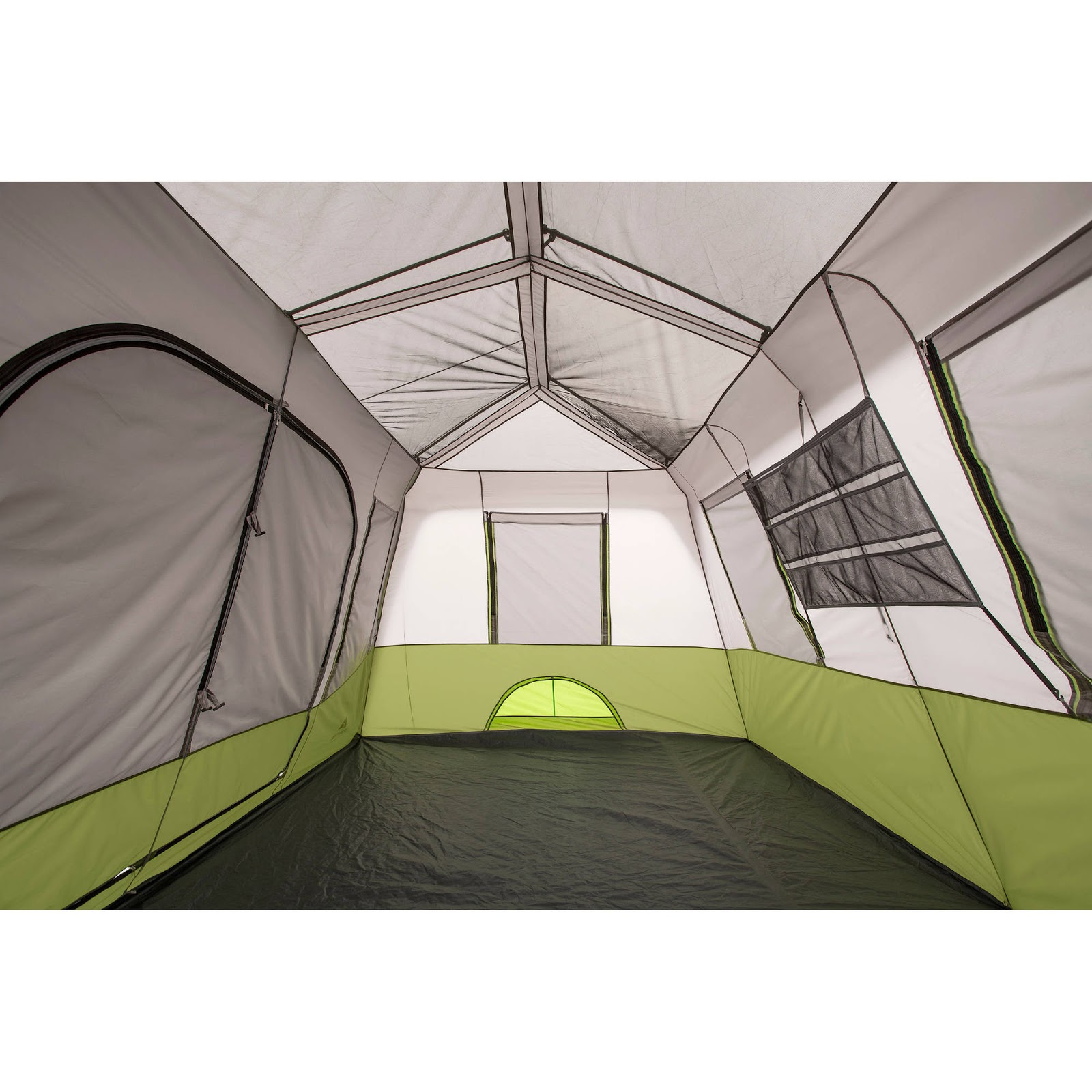 Ozark Trail 9 Person Camping Tent Dome 2 Rooms Cabin Tent and Screen