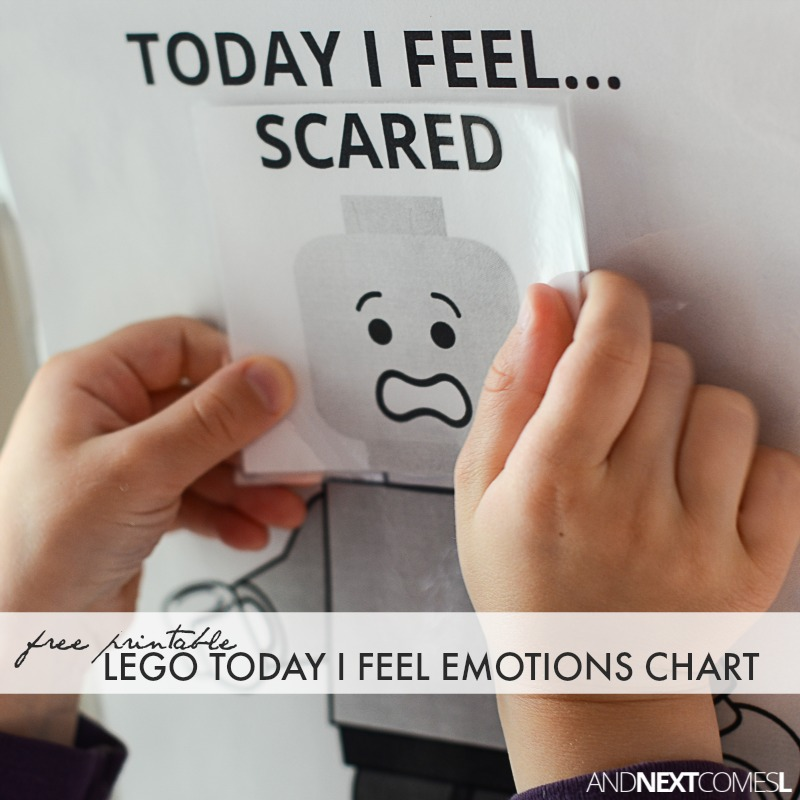 picture relating to Feelings Chart Printable referred to as Absolutely free Printable LEGO \
