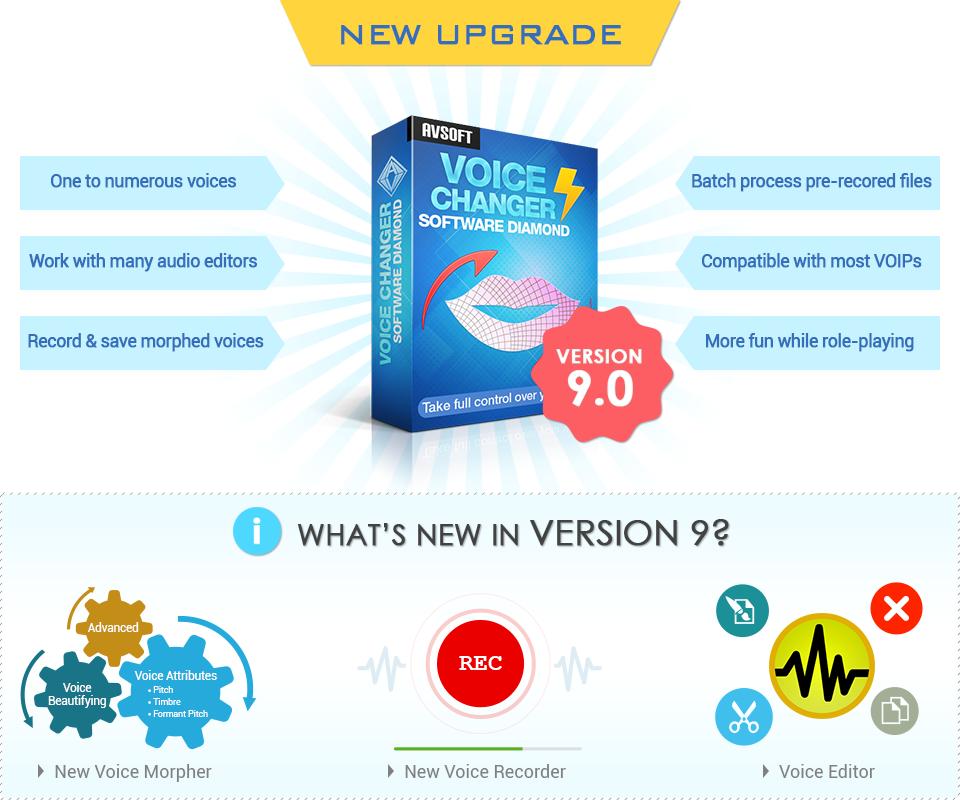 AV Voice Changer Software Diamond 9 0 Screenshot - Voice Changer