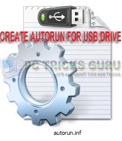 Create Autorun File For Pen Drives