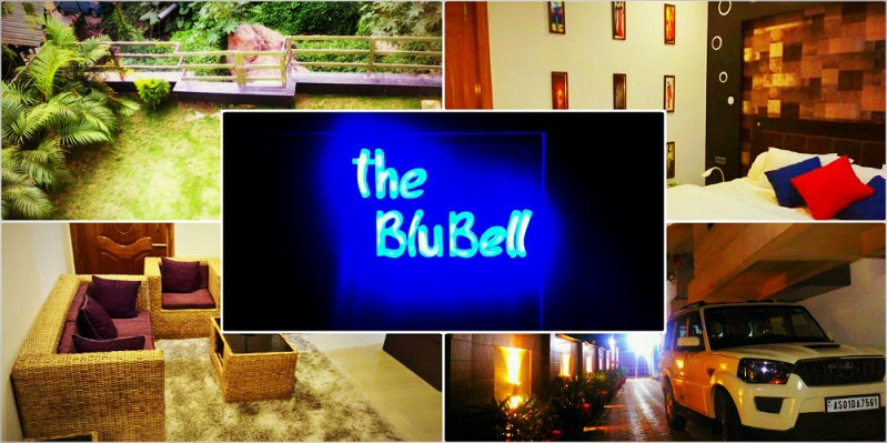 The Blu Bell guest house in Guwahati