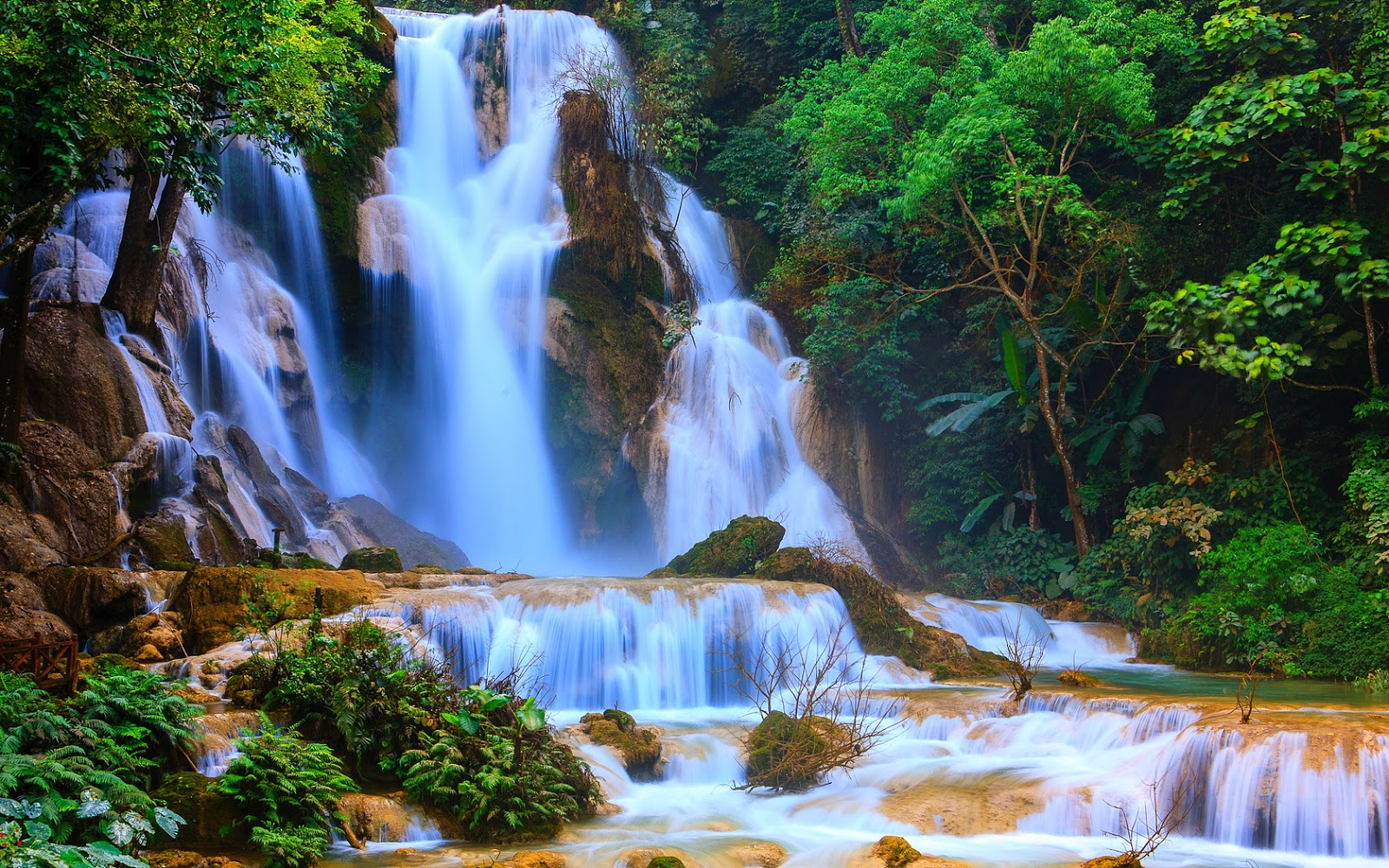 обои на рабочий стол природа водопады
