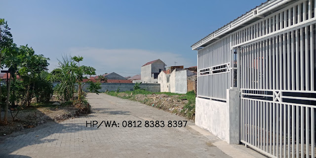 Jual Tanah Kavling Murah ukuran 7 x 14 m SHM Di Cluster Kelapa Gading Jalan Kelambir V Medan Sumatera Utara