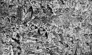 Lukisan seniman Bali tentang Peristiwa Bubat