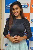 Shravya in skirt and tight top at Vana Villu Movie First Song launch at radio city 91.1 FM ~  Exclusive 41.JPG
