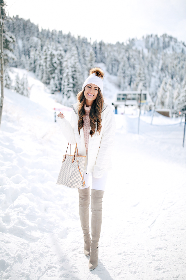 Southern Curls & Pearls: Snow Day