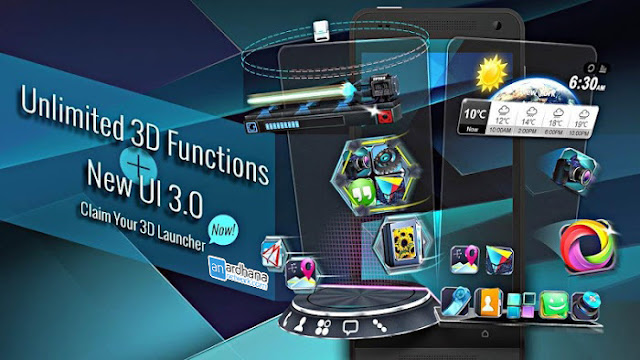 Next Launcher 3D Shell v3.7.2 build 156 Apk