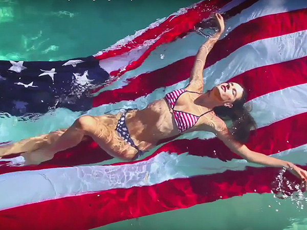 Advent Calendar Video of Love Magazine : Alessandra Ambrosio Will Take You to the 'Danger Zone'