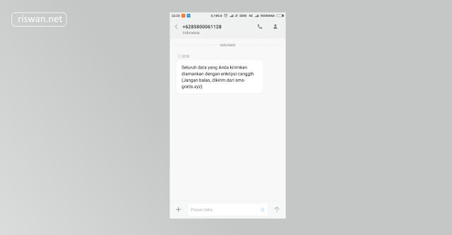 Cara Kirim SMS Gratis All Operator Indonesia Terbaru 2018