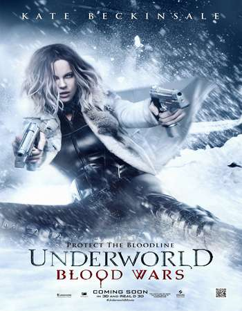 Underworld Blood Wars 2016 Dual Audio Hindi BluRay HEVC Mobile 130MB ESubs