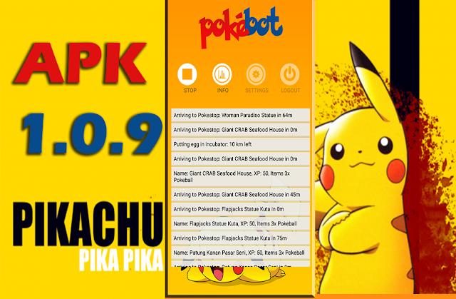 Pokemon Go - Pokebot se actualiza APK 1.0.9 (correccion de Errores)