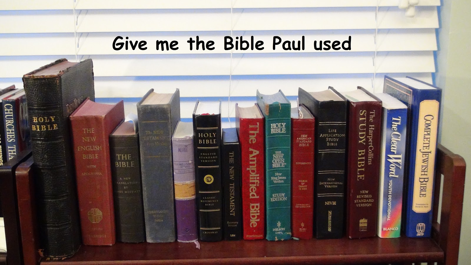 Apologetica: King James Bible only?