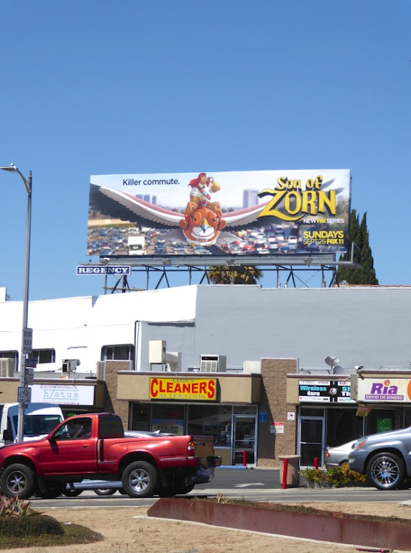 Son of Zorn TV series billboard
