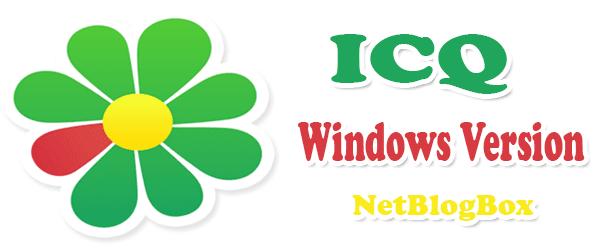 ICQ For Windows