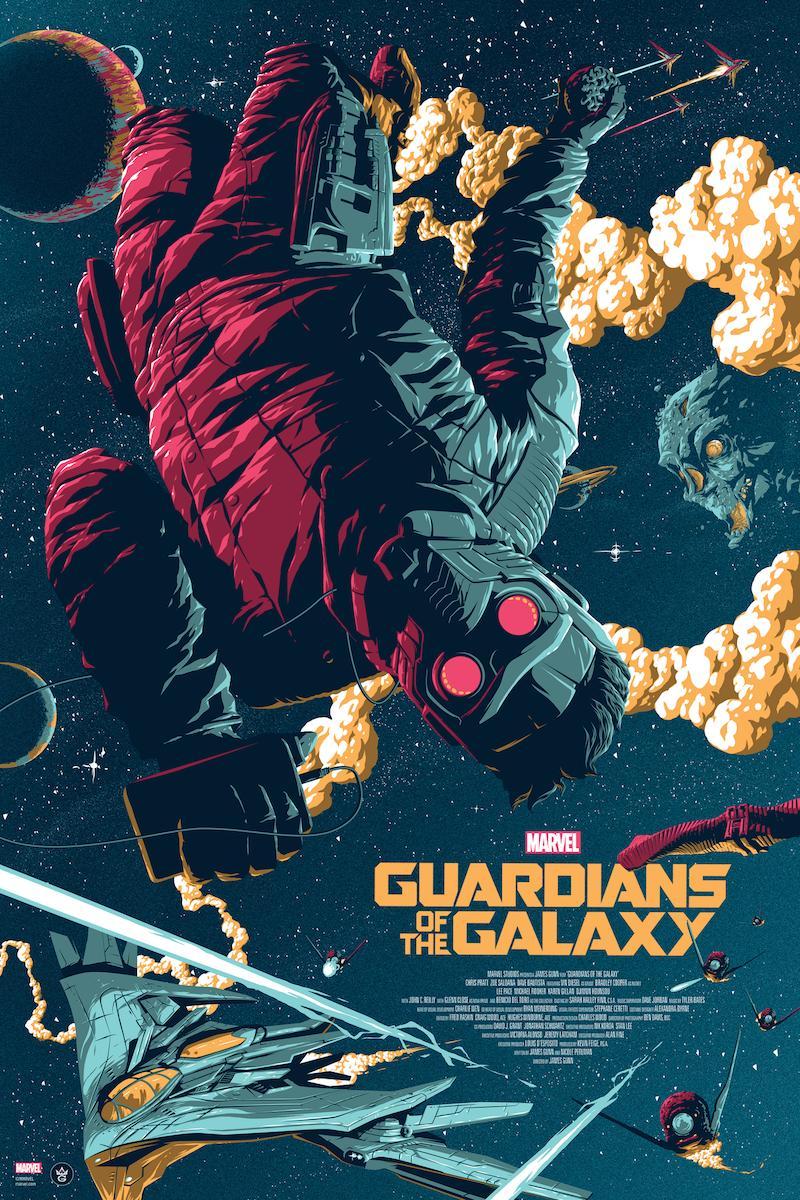Poster đẹp phim vệ binh dải ngân hà