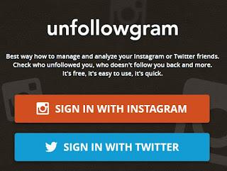 Cara mengetahi siapa yang unfollow instagram kamu