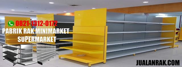 jual rak mini market murah, jual rak supermarket murah, pabrik rak minimarket