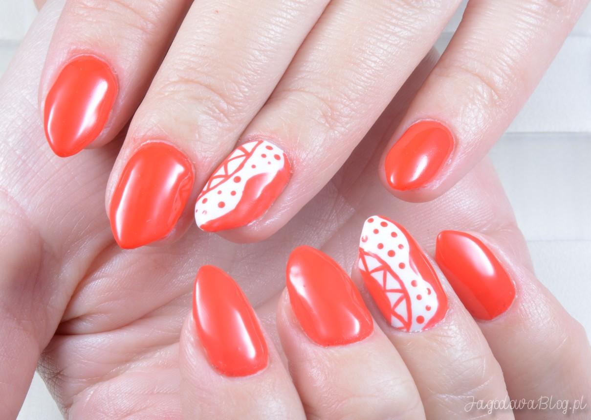 Jagodowablog Pl Czerwone Paznokcie Z Paint Gel Em Canni 545