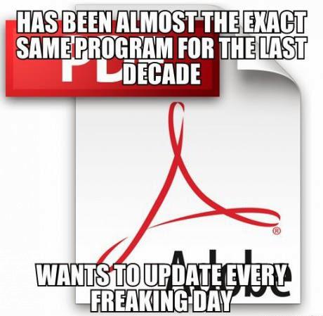 Geek <b>Jokes</b>: Adobe <b>PDF</b> Update -<b>Funny</b> Geek <b>Joke</b>