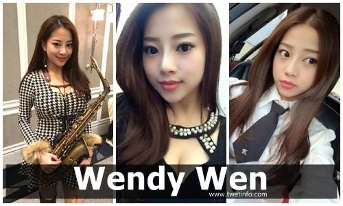 Inilah Wendy Wen Wanita Pemain Saksofon Tercantik di Dunia