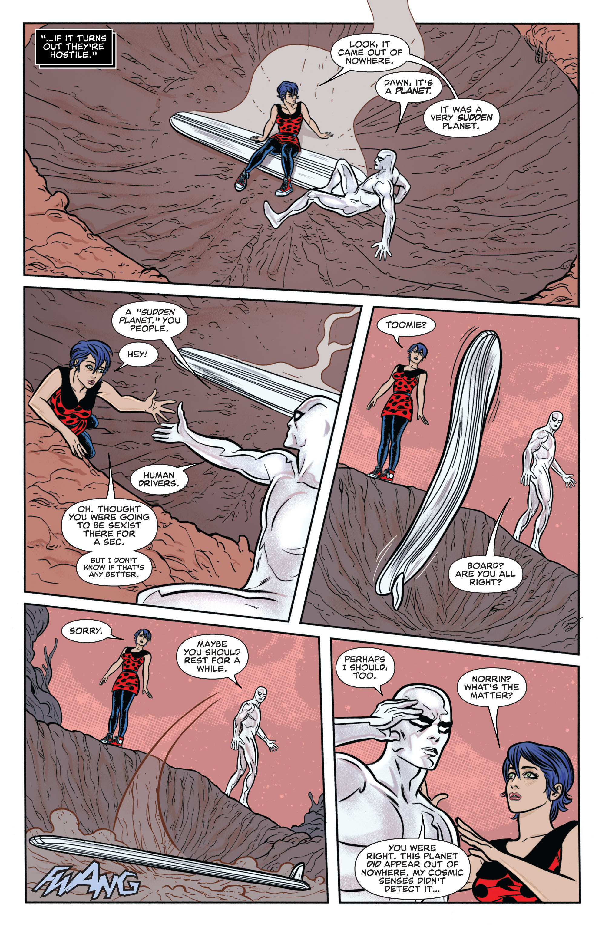 Read online Silver Surfer (2014) comic -  Issue #8 - 10