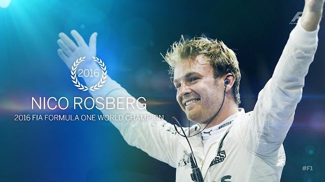 Hasil balapan GP F1 Abu Dhabi : Rosberg juara dunia, Hamilton menang!